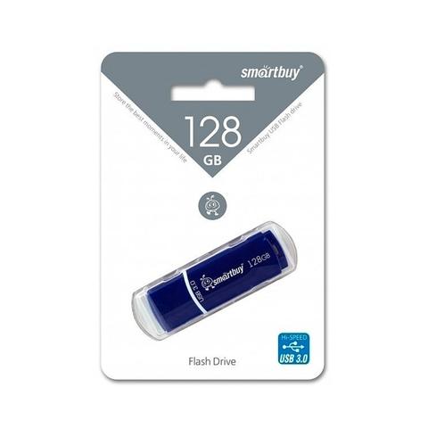 128GB USB-флеш 3.0 накопитель CROWN SMARTBUY синий