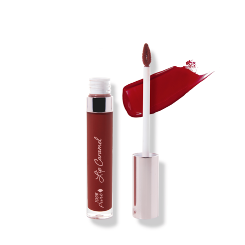 100% Pure Блески для губ Красный вельвет коллекция «Карамель» 5 мл