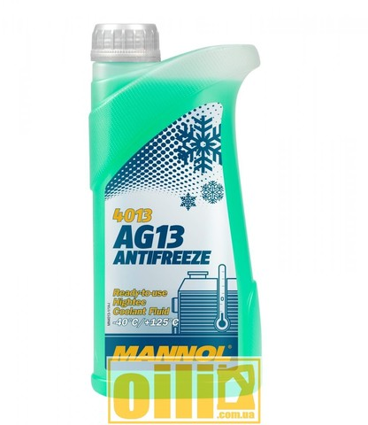 Mannol 4013 Antifreeze AG13 -40°C Hightec 1л