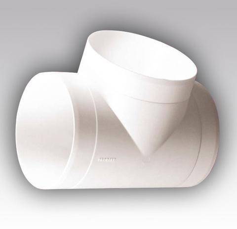 Тройник Т-образный 100 мм пластик