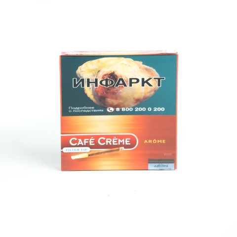 Сигариллы Cafe Creme Filter Tip Arome 10 шт