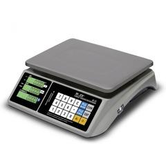 Купить Весы торговые настольные Mertech M-ER 328AC-15.2 TOUCH-M, LCD/LED, АКБ, 15кг, 2гр, 325х230, с поверкой, без стойки