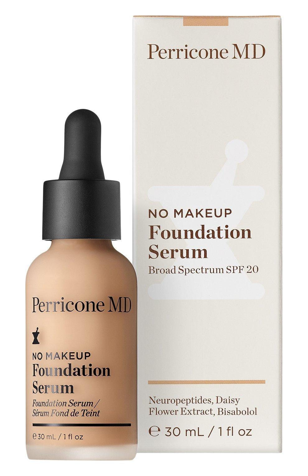 Тон-сыворотка Perricone MD No makeup Foundation Serum Light 30 мл