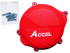 Защита крышки сцепления Accel CRF450R 09-15 red