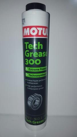 Motul Tech Grease 300 многофункциональная литиевая смазка  (400 гр)