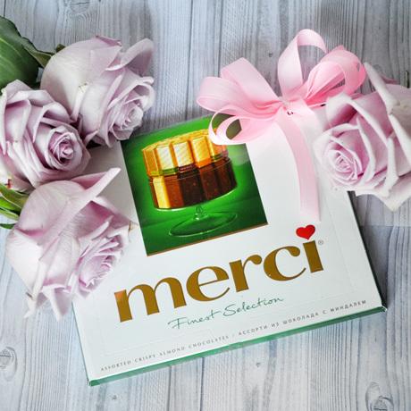 Купить конфеты Мерси в подарок Пермь