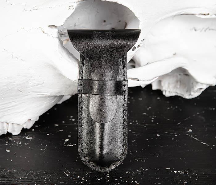 BC215-1 Чехол для  бритвенного станка из натуральной кожи фото 02