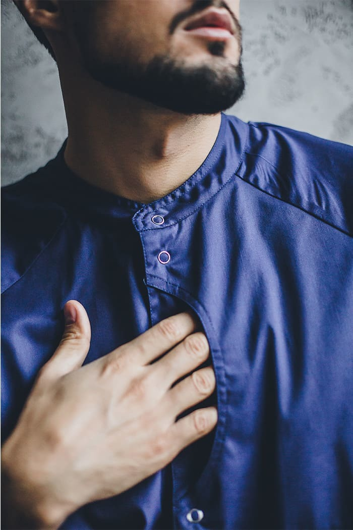 Блузы мужские медицинские М 44