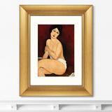 Амедео Модильяни - Репродукция картины в раме La belle Romaine, 1917г.