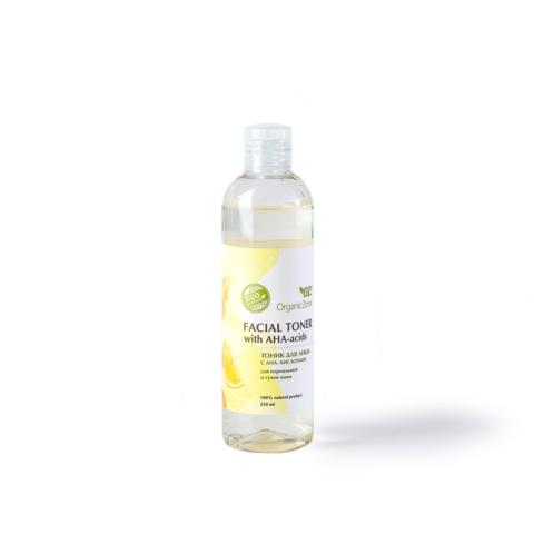 OZ! Тоник для лица с АНА-кислотами для нормальной и сухой кожи (250 мл)