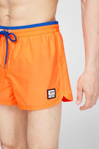 Мужские оранжевые плавательные шорты BMBX-REEF-30 Diesel