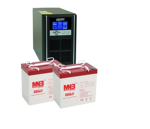 Комплект ИБП UDC9201H-АКБ MM55 (24в, 800Вт)