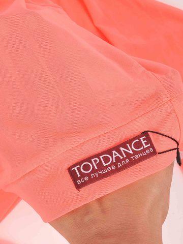 Кроп-топ из сетки для танцев