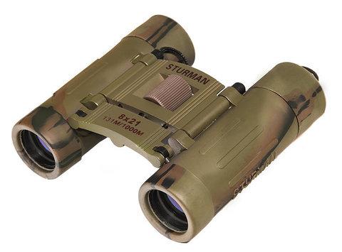 Бинокль Sturman 8x21 камуфляж