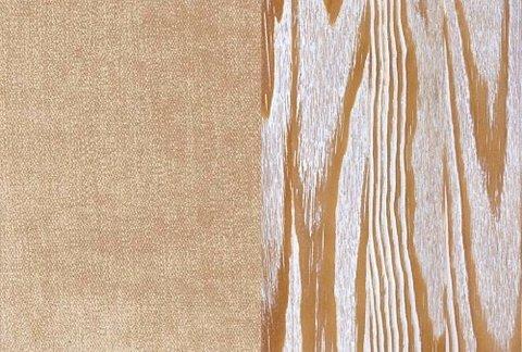 Ткань/Массив, Тетра Бежевый/Латте с белой патиной (браширование)