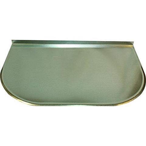Притопочный лист (оцинк. сталь), 60*50 см