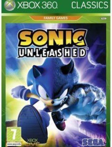Sonic Unleashed (Xbox 360 - Xbox One/Series X, английская версия)