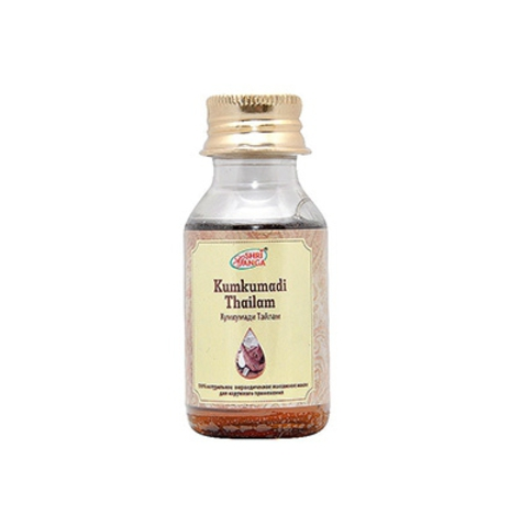 Кумкумади Тайлам масло, 50 мл Shri