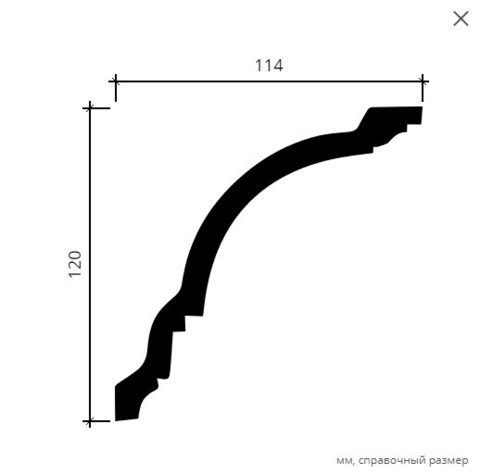Карниз гибкий 1.50.108