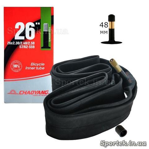Велосипедна камера CHAOYANG 26