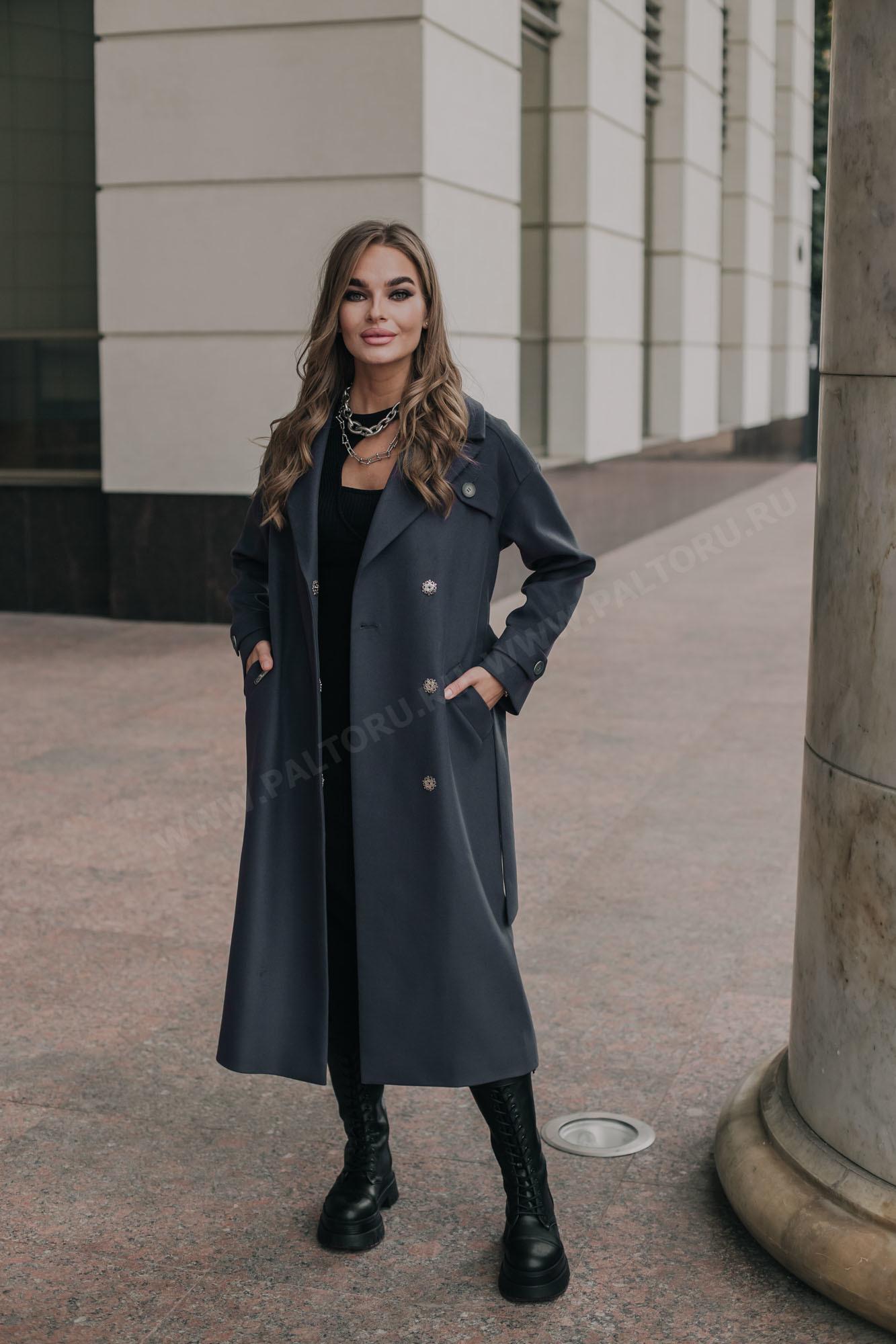 Пальто женское демсезонное