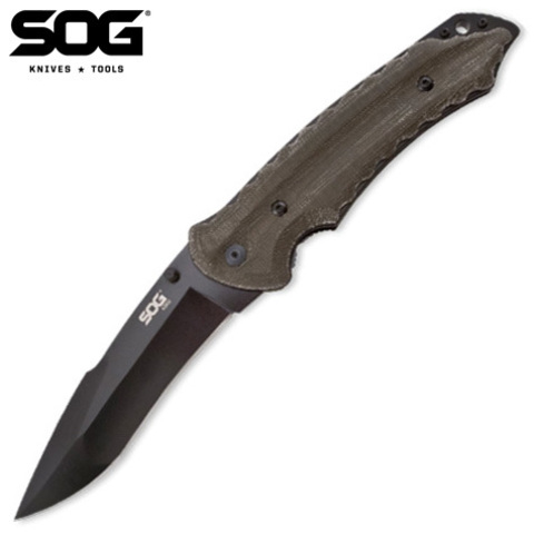Нож SOG модель KU-1012 Kiku Folder TiNi