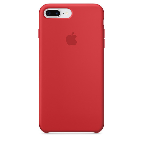 Чехол IP7/8 PLUS Silicone Case Red