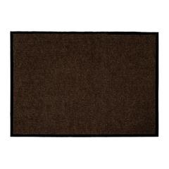 Коврик влаговпитывающий, ребристый, коричневый, 90*120 см