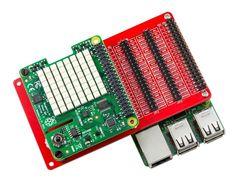 Плата расширения HAT GPIO для Raspberry Pi с кабелем пример 3