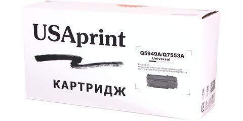 Картридж лазерный USAprint 53A/49A Q7553A/Q5949A (Cartridge 708)/0266B002[AA] черный (black), до 3000 стр. - купить в компании MAKtorg