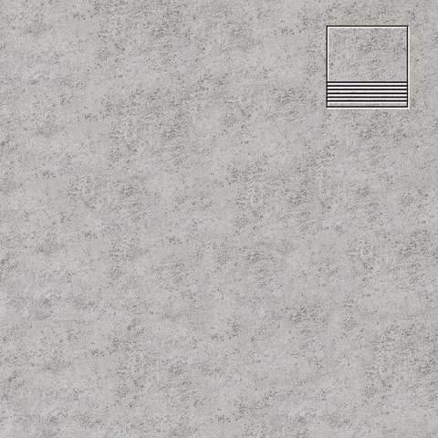 Stroeher - Euramic Cadra E 522 nuba 300х294х8 артикул 8130 - Клинкерная напольная плитка для ступени, с насечкой