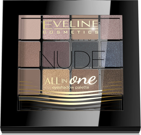 EVELINE Тени для век №1 - NUDE серии  ALL IN ONE