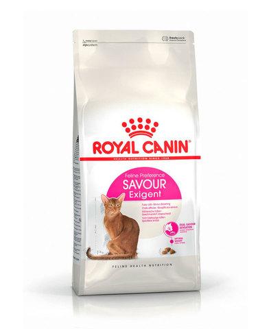 Royal Canin Exigent Savour сухой корм для кошек, привередливых к вкусу 2 кг