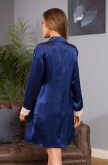 Шелковая рубашка Mia-Mia темно-синий