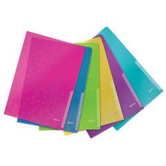 Папка-уголок Leitz WOW 200 мкм (6 штук в упаковке)