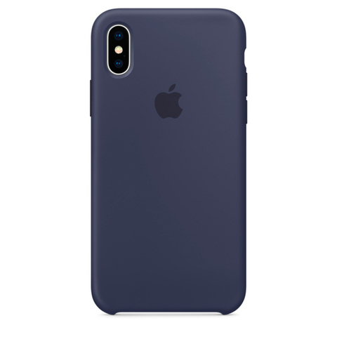 iPhone X Silicone Case Midnight Blue