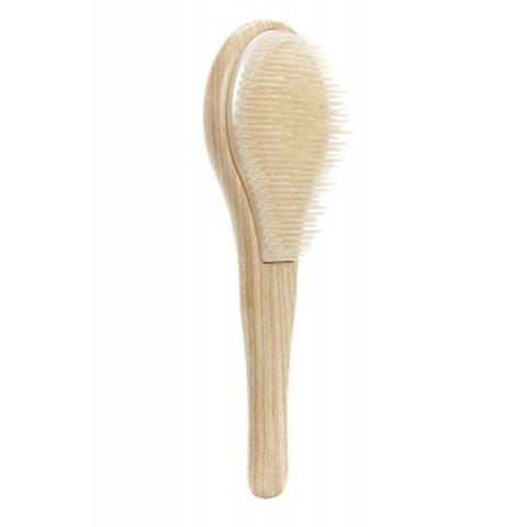 Michel Mercier: Щетка деревянная для тонких волос (WOODEN Detangling Brush for Fine Hair)