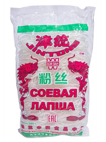 Лапша соевая JinJin FOOD 280 гр.