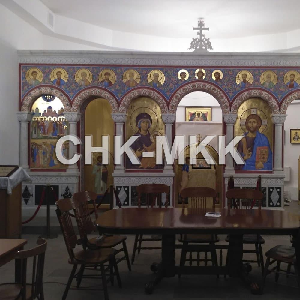 Иконостас для Храма Рождества Христова в г. Санкт-Петербурге
