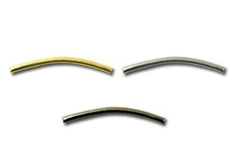 Трубочка металлическая 20*1 мм. (выбрать цвет)