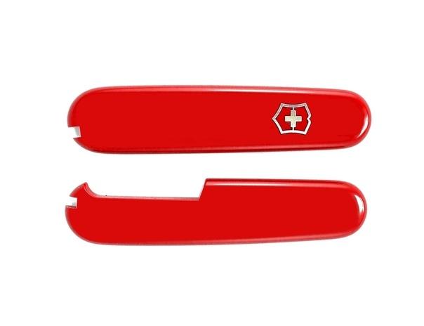 Набор накладок для ножа Victorinox 91 мм., цвет - красный