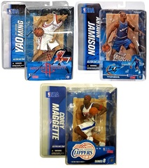 Баскетболисты фигурки NBA серия 7, 8, 9