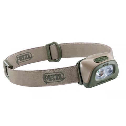 Фонарь светодиодный налобный Petzl Tactikka RGB пустыня, 350 лм