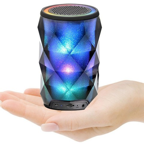 Портативная BLUETOOTH колонка BIG DIAMOND SMART LED SPEAKER оптом