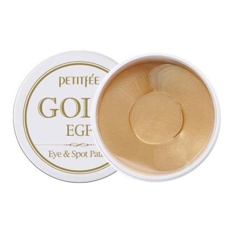 Petitfee Патчи для глаз и межбровья с золотом Gold & EGF Hydrogel Eye & Spot Patch