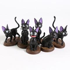 Ведьмина Служба Доставки фигурки кошка Дзидзи