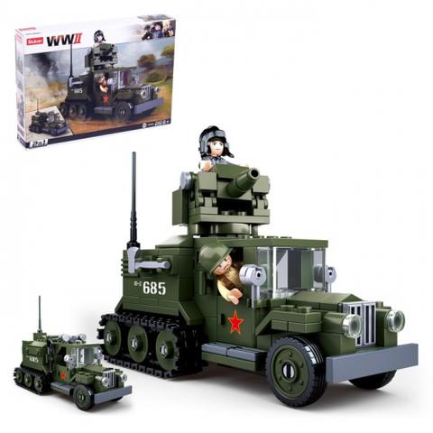 Конструктор Армия «Боевой грузовик», 243 детали