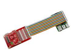 Плата расширения HAT GPIO для Raspberry Pi с кабелем пример 2