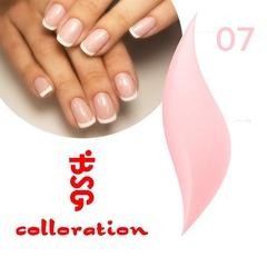 BSG Colloration, №07 Нежно-розовый с мелким шимером