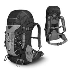 Туристический  Рюкзак Trimm Adventure RAPTOR II, 45 л (зеленый, черный)